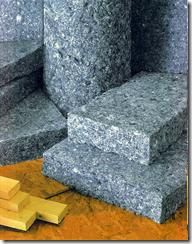 denim scraps make cotton insulation material
